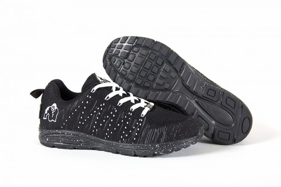 Gorilla Wear Brooklyn Knitted Sneakers - Black/White