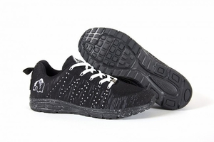New- Gorilla Wear Brooklyn Knitted Sneakers - Black/White
