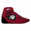 "Gorilla Wear Chicago High Top Shoes - Red/Black ""Limited"""