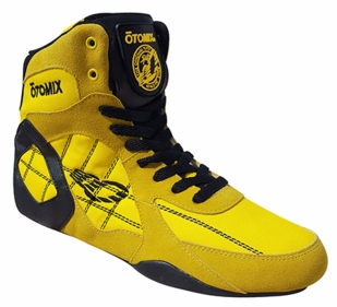 New- Otomix Yellow Ninja Warrior Bodybuilding Combat Shoe- M/F3333
