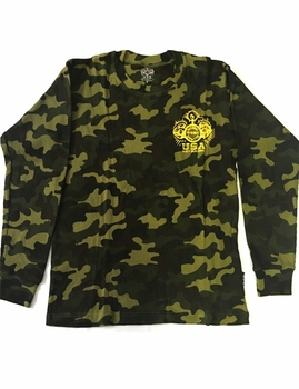 NPC Long Sleeve Camo Thermal Top