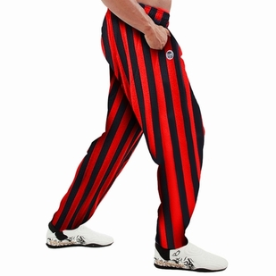 Otomix Red/Black Stripe Bodybuilding Baggy Pant
