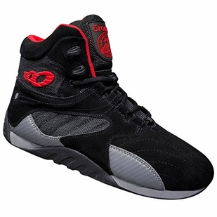 New- Otomix Carbonite Ultimate Trainer Bodybuilding Shoes- Black Suede
