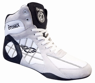 Otomix White/Black Ninja Warrior Bodybuilding Combat Shoe-M/F3333NEW
