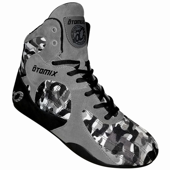 Otomix Urban Commando Grey Camo Stingray Bodybuilding MMA Shoes