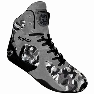 New- Otomix Urban Commando Grey Camo Stingray Bodybuilding MMA Shoes