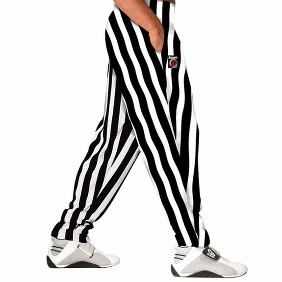Otomix White/Black Stripe Bodybuilding Baggy Pant- Sold Out