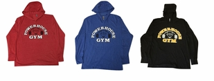 New- Powerhouse Gym Lightweight Hoodie