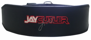 "Schiek J2014 4"" Black Leather Jay Cutler Signature Belt"
