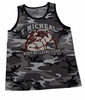 T. Micheal Camo Athletic Tank Top- #AT-102B