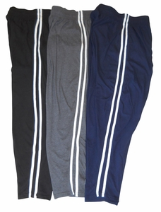 T. Micheal Double Stripped Baggy Pants #912- Factory Direct