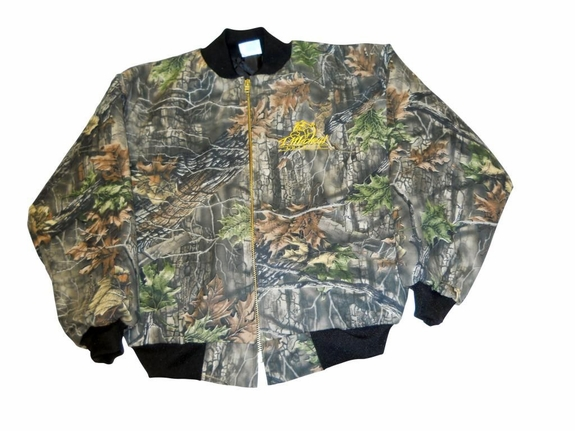 T. Micheal Embroidered Classic Athletic Jacket - Style 1017 Mossy Oak Camo