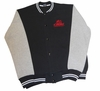 T. Micheal Embroidered Athletic Jacket - Black Body