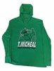 T. Micheal Lightweight Hoodie- Style 101HH - Green