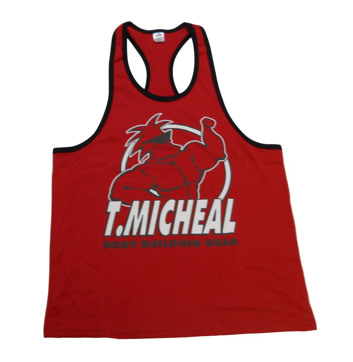 New Micheal Ringer Camo Tank Top T