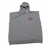 T. Micheal Sleeveless Fleece Hoodie- Style 201HSL- Factory Direct - Grey