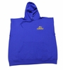 T. Micheal Sleeveless Fleece Hoodie- Style 201HSL- Factory Direct - Royal Blue