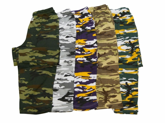 Zubaz Pants: 3 Pack Camo Zubaz Pants