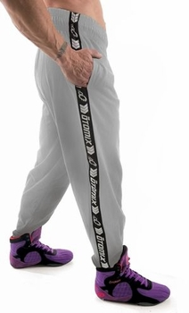 Otomix Workout Pant- Grey Signature Stripe