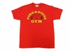 Powerhouse Gym Traditional Tee - Red