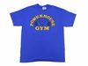 Powerhouse Gym Traditional Tee - Royal Blue