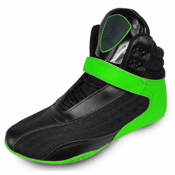 Ryderwear Raptors G-Force Performance Shoes- Black / Green