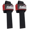 Schiek 1000PLS Power Lifting Straps- Now in Colors! - Red