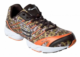 Spira Camo Running Shoe- Orange