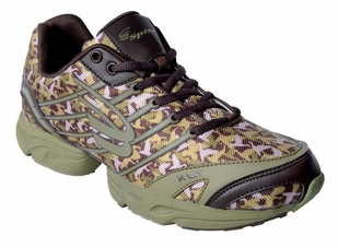 Spira Camo Performance Shoe- Olive