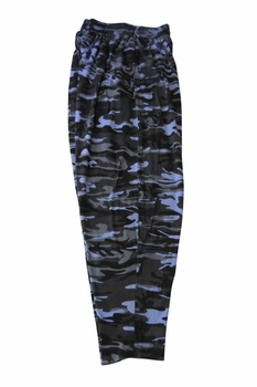 T. Micheal Blue Camo Baggy Pants # 916C