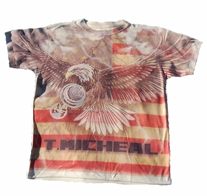 T. Micheal Eagle Tee- # SW101C- Factory Direct