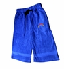 T Micheal Embroidered Baggy Work Out Shorts # 00946 - Royal Blue