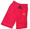 T Micheal Embroidered Baggy Work Out Shorts # 00946 - Red