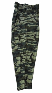 T. Micheal Green Camo Baggy Pants # 916B