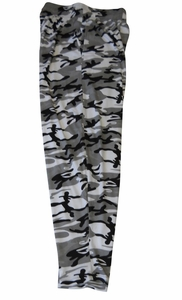 T. Micheal Grey Camo Baggy Pants # 916D