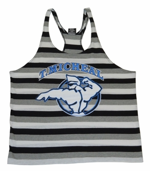 "T. Micheal ""Sammy Surfer"" Striped Stringer Tank Tops- Style 106B"