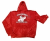 T. Micheal Tye Dye Hoodie # 209H- Factory Direct- New - Red- L Only