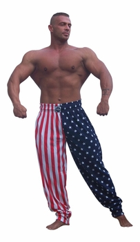 T. Micheal US Flag Baggy Pants #913- Factory Direct