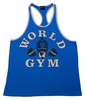 World Gym  Ringer Tank Top