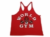 World Gym Stringer Tank Tops- STT01