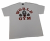 World Gym Tee-  Premium Tee- Front & Back Print