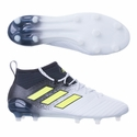 adidas ACE 17.1 FG Soccer Cleats - White/Solar Yellow