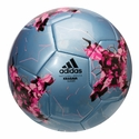 adidas ConfederationsCup Glider SoccerBall - Blue/Pink