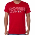adidas FC Bayern Munich Core Tee - FCB True Red