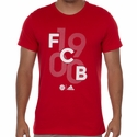 adidas FC Bayern Munich Graphic Tee - True Red