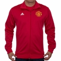 adidas Manchester United 3 Stripe Track Top - Power Red