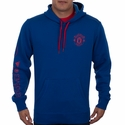 adidas Manchester United Core Hoody - Collegiate Royal