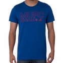 adidas Manchester United Core Tee - Collegiate Blue