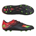 adidas Messi 15.1 FG/AG Soccer Cleats - Core Black