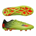 adidas Messi 15.3 FG Soccer Cleats - Solar Slime